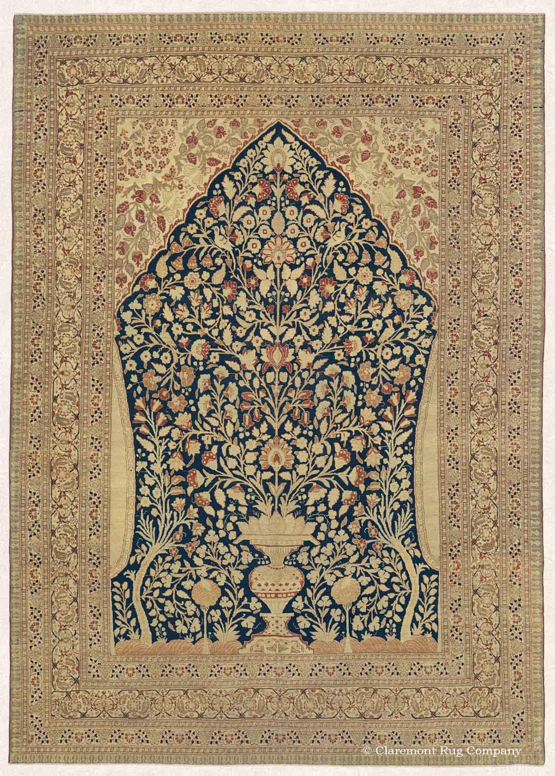 """Hadji Jallili (Haji Jalili) Tabriz """"Garden of Paradise"""""""