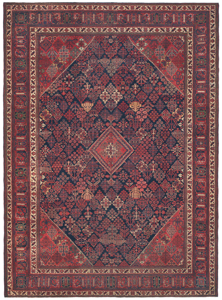 Persian Joshegan antique Rug from Claremont Rug Company