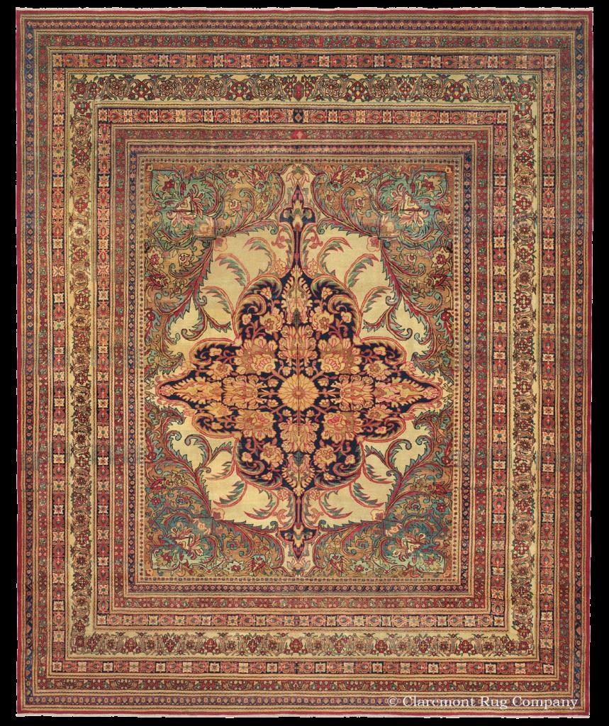 A Kermanshah Persian Rug, Circa 1850