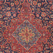 Vinatge Persian Kashan Antique Rug