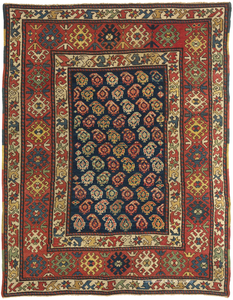 A Caucasian Kazak Antique Rug