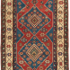 Antique Caucasian Kazak Rug, 4ft by 6ft 2in, late 19th century