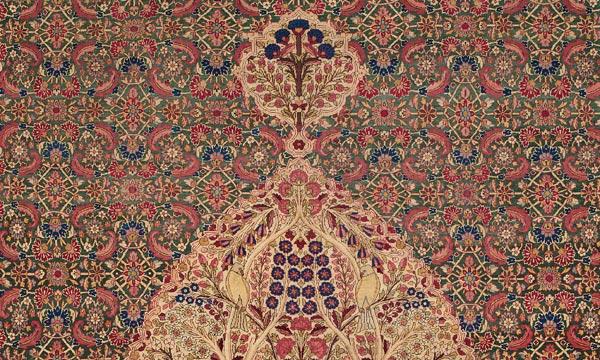 1850 oversize Persian Kermanshah carpet