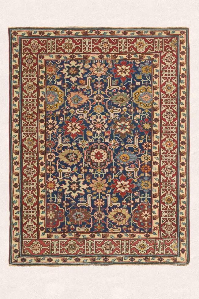 Caucasian Rug with Rare Carpet Design