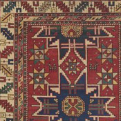 Lesghi Caucasian Antique Rug