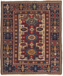 Lesghi, Northeast Caucasian Tribal Rug