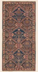 Learn more about this Antique Western Persian Luri 3ft 2in x6ft 6in Rug