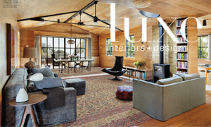 Luxe article featuring Antique Rugs in a Contemporary Home