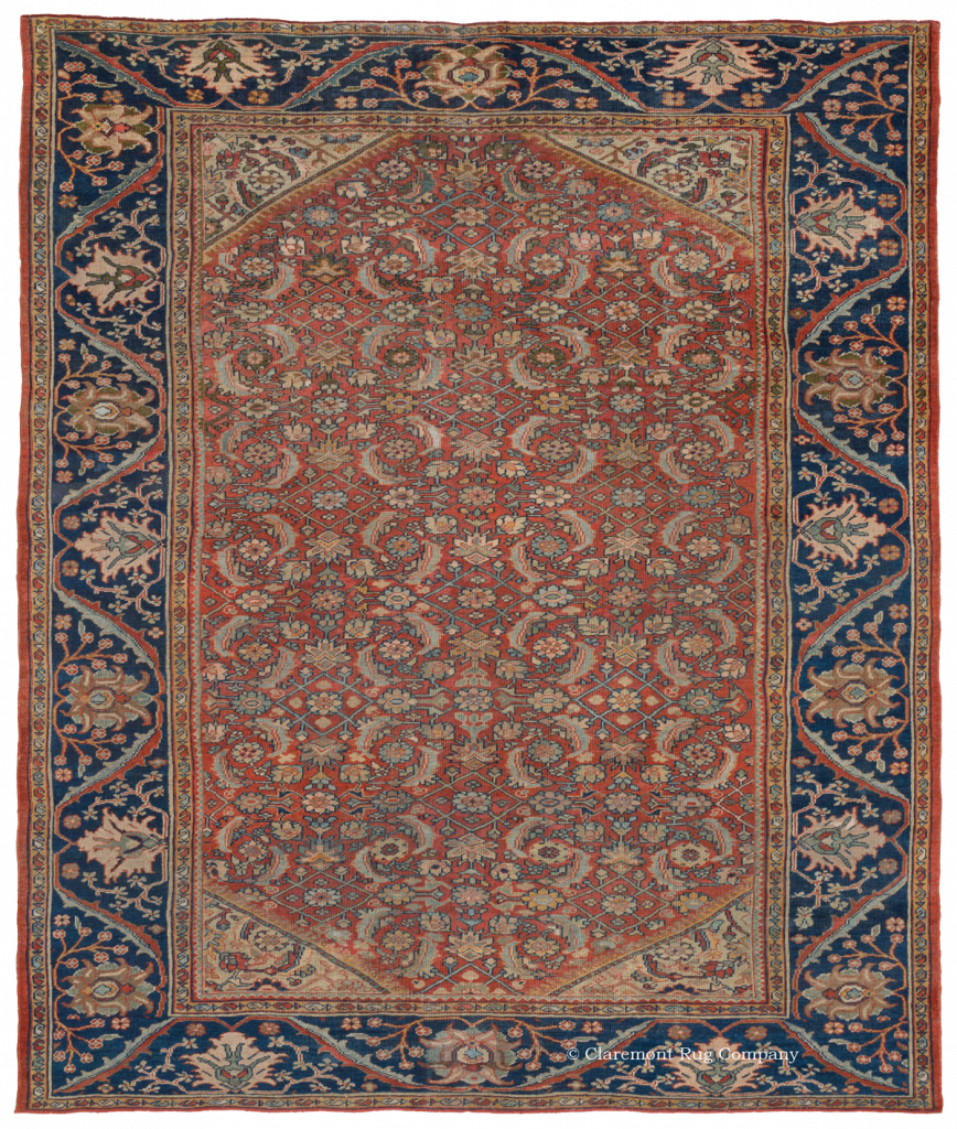 Western Central Persian Mahal Antique Rug