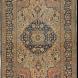 Antique Persian Motasham Kashan Rug 4ft 5in by 7ft