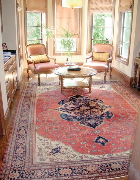 Caucasian Bordjalou Kazak Antique Rug
