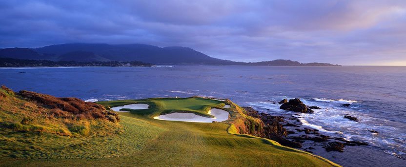 Stunning views at Pebble Beach