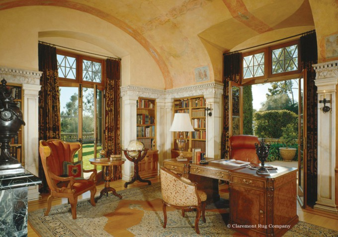 Antique Camelhair Carpets in Contemporary Interior Design