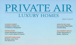 Cover of Private Air Luxury Homes