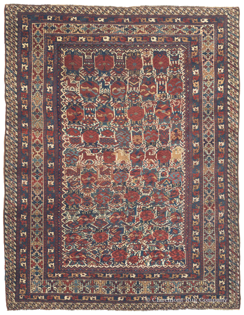 QASHQAI, Southwest Persian, 5ft 2in x 6ft 10in, 3rd Quarter, 19th Century