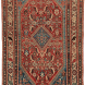 Antique Persian Oriental Collectible Qashqai Shishboluki Rug 3ft 0in x 4ft 6in