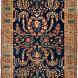Antique Persian Sarouk Rug 4ft 2in by 6ft 5in