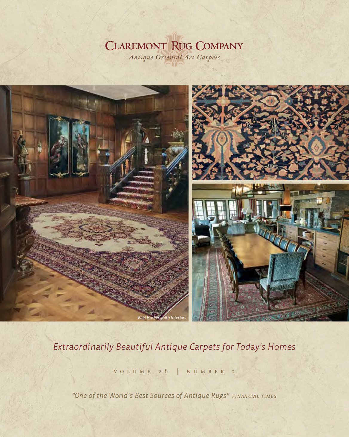 Claremont Rug Company Fall 2016 Catalog