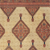 Palace-Sized Serab Camelhair Rug