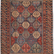 Antique Caucasian Shirvan Rug 3ft 10 in by 4ft 10in