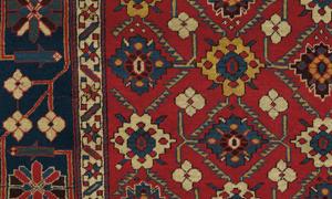 Detail of a rare Shirvan Caucasian Antique rug