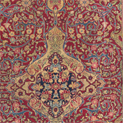 Detail Kashan Persian Rug