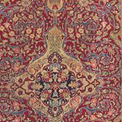 Detail Kashan Persian Rug