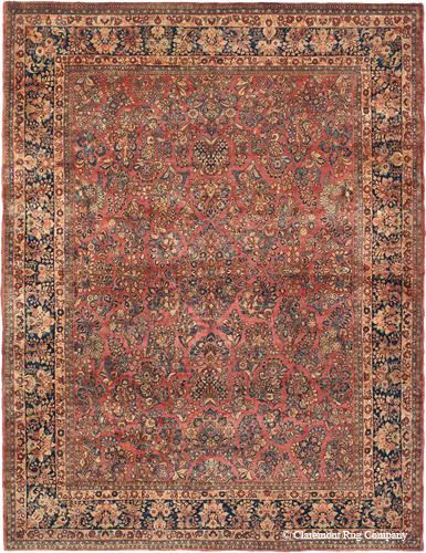 Vintage Sarouk Fine art rug