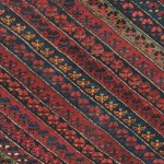 best-of-the-best 19th century rug created by a nomadic Kurdish weaver