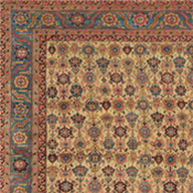 Persian Bakshaish Carpet in Camelhair