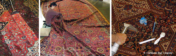 Caring for antique persian rugs