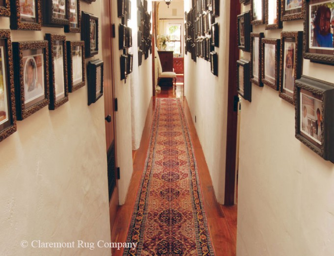 Tabriz Runner Bedroom Hallway & Gallery Of Family Photos