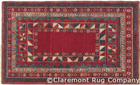 Antique Tribal Rug featured in the WSJ