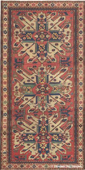 Caucasian Eagle Kazak dated 1885