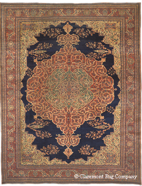 Antique Rug from the Chappaqua Collection at Claremont Rug Company
