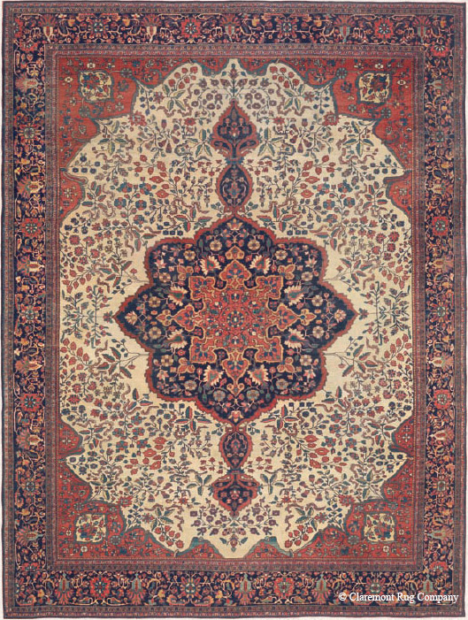 Ferahan Sarouk Town Carpet, 3rd quarter, 19th century
