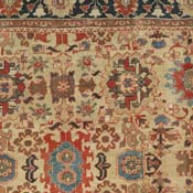 Antique Sultanabad West Central Persian 10ft 8in X 13ft 10in 3rd Quarter 19th Century