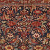 Antique Sultanabad West Central Persian 13ft 6in X 17ft 3rd Quarter 19th Century