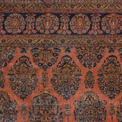 Antique Persian Manchester Kashan Rug 10ft 3in x 13ft 5in