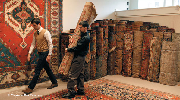 From Rugs To Riches San Francisco Chronicle Claremont Rug Company