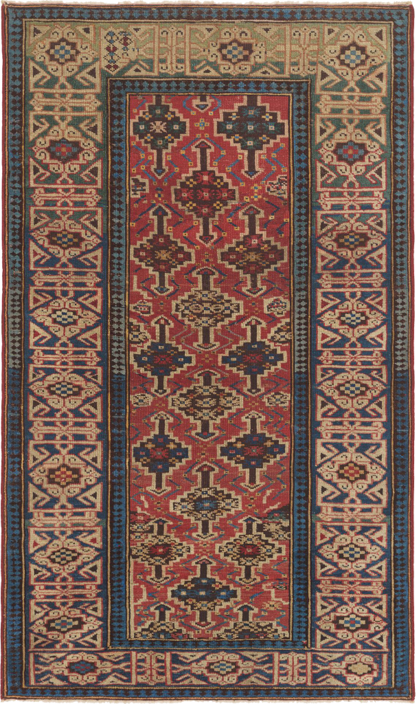 antique Caucasian rug, Kuba carpet