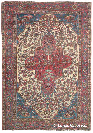 antique ferahan sarouk rug