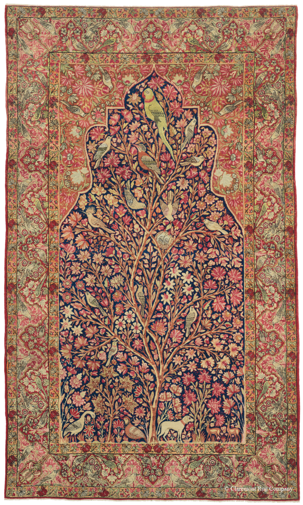 Tree of Life Kermanshah Persian Rug