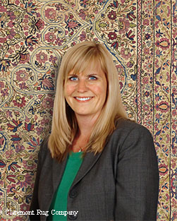 Claremont Senior Sales Associate & Gallery Manager Nancy Brinkley