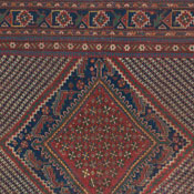 Antique Persian Qashqai Rug 4ft 7in x6ft 11in