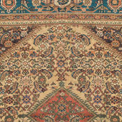 Antique Persian Mahal Rug 7ft 3in x 8ft 5in