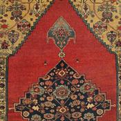 Bijar (Bidjar), 5ft 0in X 7ft 8in, Circa 1875