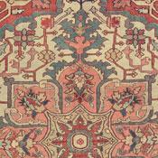 Antique Serapi, Northwest Persian, 9ft 6in X 12ft 8in, Circa 1875