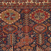 Antique Persian Qashqai Collectible Rug 3ft 4in x 5ft 8in