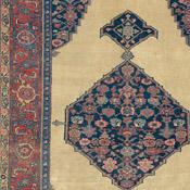 Antique Bijar (Bidjar), 5ft 10in X 11ft 5in, Circa 1850